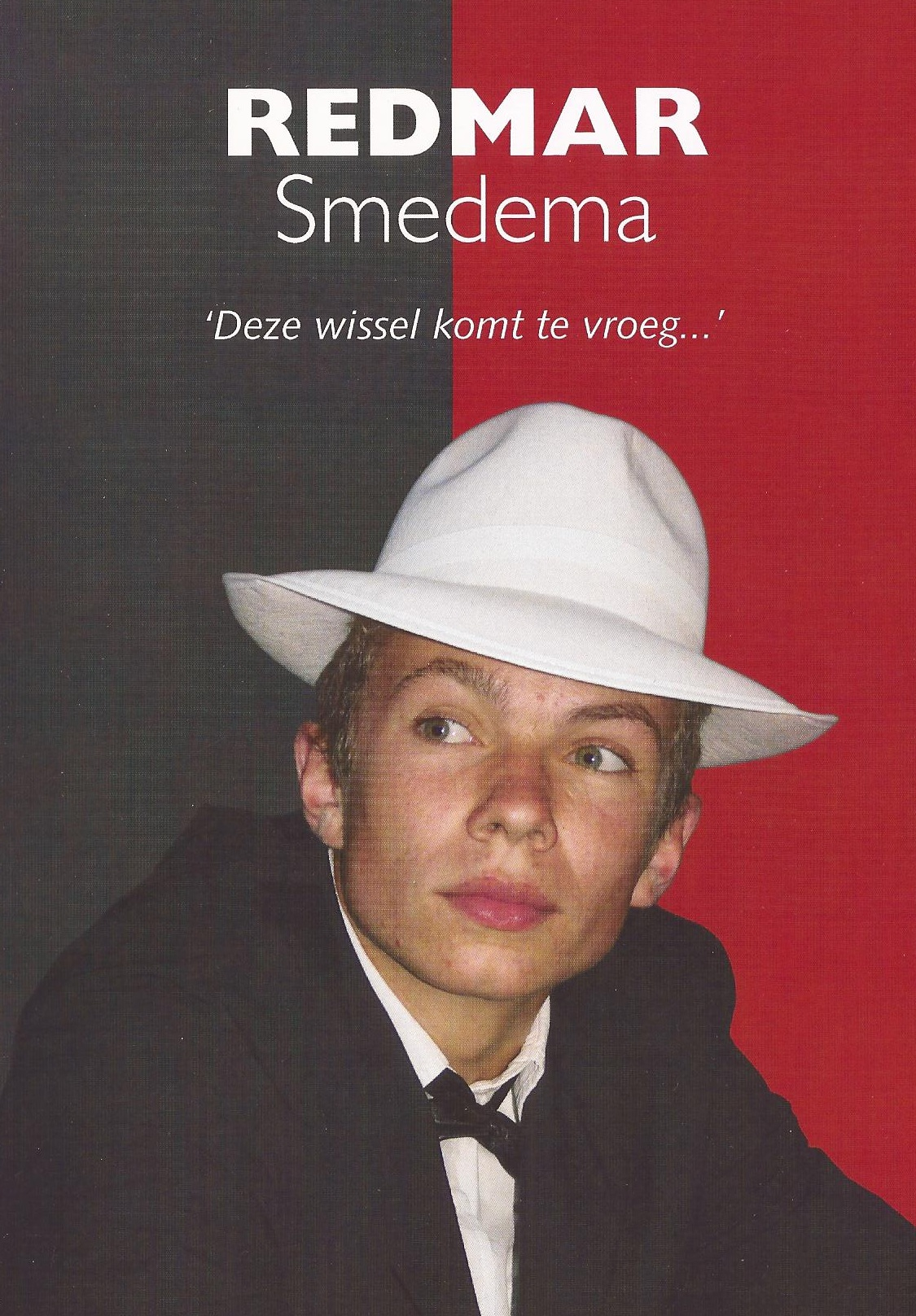 Boek over Redmar Smedema